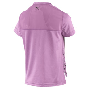 Thumbnail 4 of Slogan Women's Tee, Orchid, medium