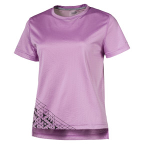 Thumbnail 1 of Slogan Women's Tee, Orchid, medium