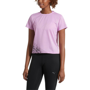 Thumbnail 2 of Slogan Women's Tee, Orchid, medium