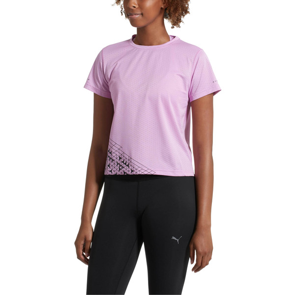 Slogan Women's Tee, Orchid, large
