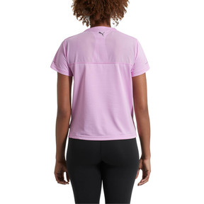 Thumbnail 3 of Slogan Women's Tee, Orchid, medium
