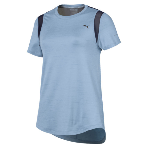 Heather Short Sleeve Women's Tee, 02, large