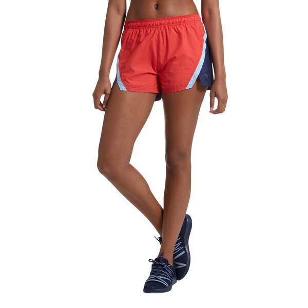Blast 3'' Women's Training Shorts, Ribbon Red, large