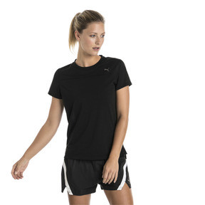 Thumbnail 2 of Women's Short Sleeve Tee, Puma Black, medium