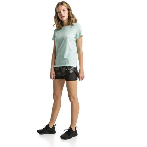 Women's Short Sleeve Tee, Fair Aqua, large