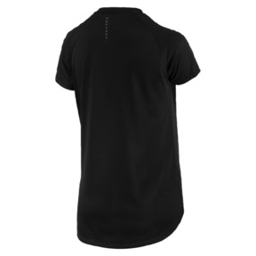 Thumbnail 4 of Short Sleeve Logo Women's Tee, Puma Black, medium