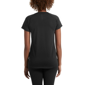 Thumbnail 3 of Short Sleeve Logo Women's Tee, Puma Black, medium