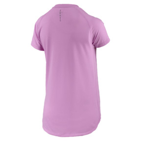 Thumbnail 4 of Short Sleeve Logo Women's Tee, Orchid, medium