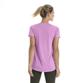 Thumbnail 3 of Short Sleeve Logo Women's Tee, Orchid, medium