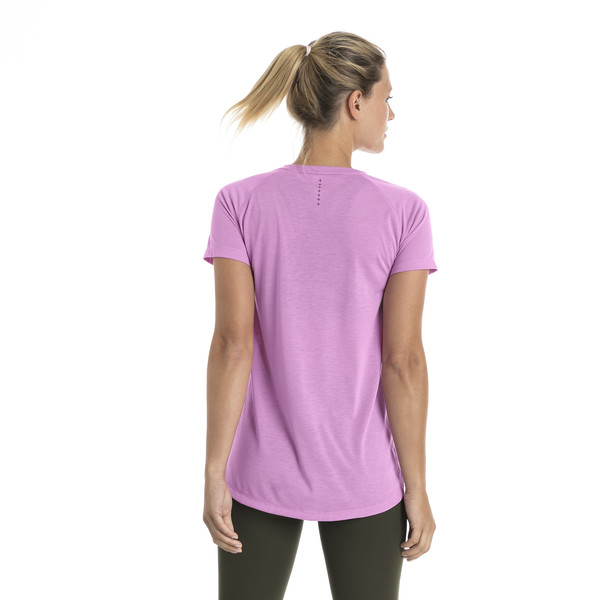 Short Sleeve Logo Women's Tee, Orchid, large