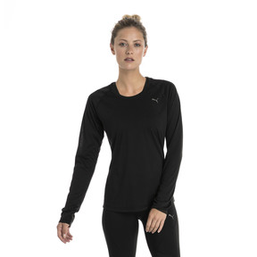 Thumbnail 1 of Running Women's IGNITE Long Sleeve, Puma Black, medium