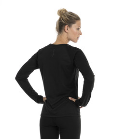 Thumbnail 2 of Running Women's IGNITE Long Sleeve, Puma Black, medium