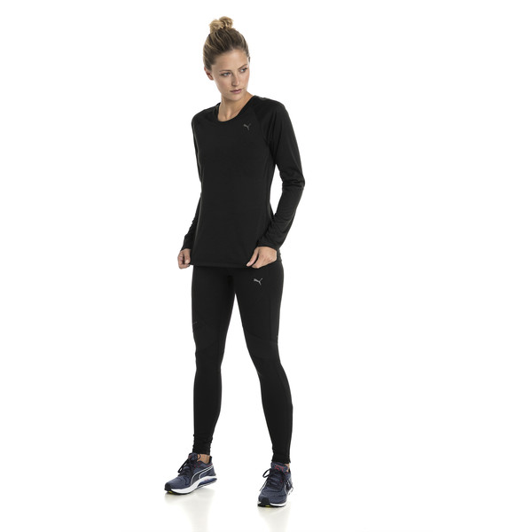 Running Women's IGNITE Long Sleeve, Puma Black, large