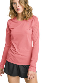 Thumbnail 1 of T-Shirt à manches longues Running IGNITE pour femme, Bright Peach, medium