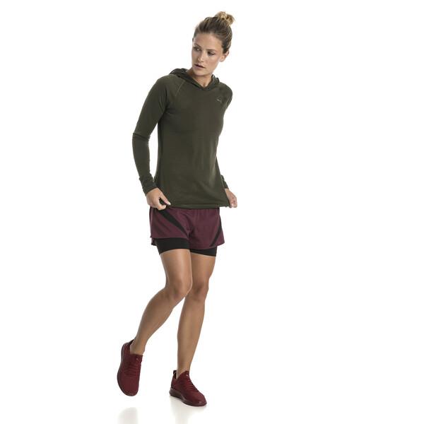 Manches Longues Pour T Running Ignite Shirt À Femme Capuche EH29YWDI