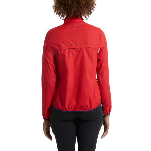 IGNITE Zip-Up Women's Running Wind Jacket, 02, large