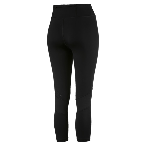 IGNITE 3/4 Women's Running Tights, Puma Black, large
