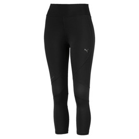 Thumbnail 4 of IGNITE 3/4 Women's Running Tights, Puma Black, medium