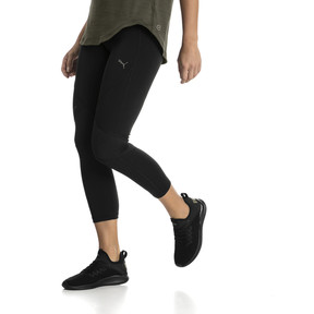 Thumbnail 1 of IGNITE 3/4 Women's Running Tights, Puma Black, medium