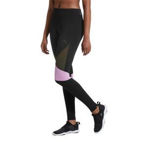 Thumbnail 2 of IGNITE Women's Running Tights, Black-Forest Night-Orchid, medium