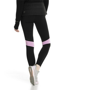 Thumbnail 3 of IGNITE Women's Running Tights, Black-Forest Night-Orchid, medium