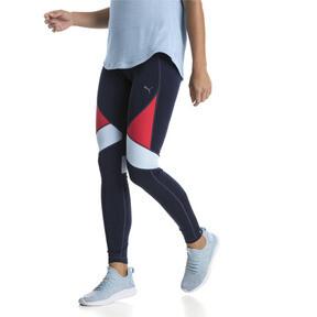 Thumbnail 2 of IGNITE Women's Running Tights, Peacoat-Ribbon Red-CERULEAN, medium
