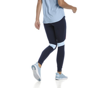 Thumbnail 3 of IGNITE Women's Running Tights, Peacoat-Ribbon Red-CERULEAN, medium
