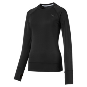 Thumbnail 1 of Running Damen IGNITE Winter Langarm-Shirt, Puma Black, medium
