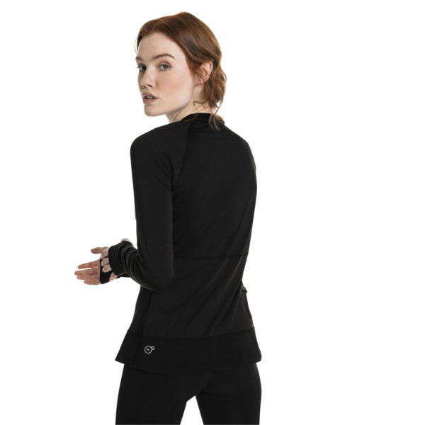Running Damen IGNITE Winter Langarm-Shirt, Puma Black, large