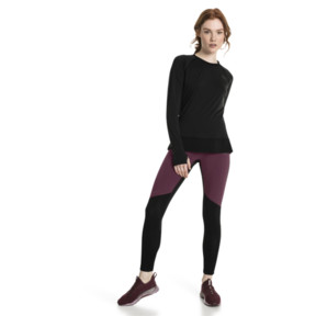 Thumbnail 5 of Running Damen IGNITE Winter Langarm-Shirt, Puma Black, medium