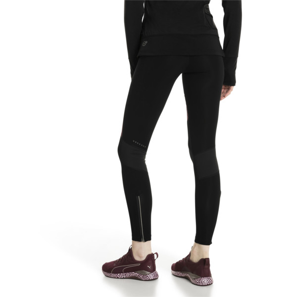 Winter Women's Long Tights, Fig-Puma Black, large