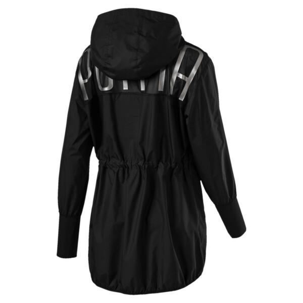 Explosive Lite Zip-Up Hooded Women's Jacket, Puma Black, large