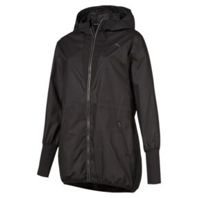 Thumbnail 1 of Explosive Lite Zip-Up Hooded Women's Jacket, Puma Black, medium