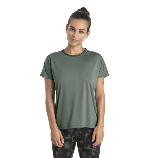 Training Women's Explosive Box T-Shirt, Laurel Wreath, large