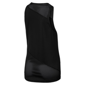 Thumbnail 4 of A.C.E. Mesh Blocked Women's Tank Top, Puma Black, medium