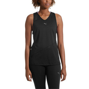 Thumbnail 2 of A.C.E. Mesh Blocked Women's Tank Top, Puma Black, medium