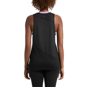 Thumbnail 3 of A.C.E. Mesh Blocked Women's Tank Top, Puma Black, medium