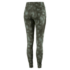 Thumbnail 4 of Training Women's Explosive 7/8 Graphic Tights, laurel wreath-forest night, medium