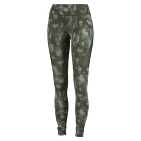 Thumbnail 1 of Collant Training Explosive 7/8 Graphic pour femme, laurel wreath-forest night, medium