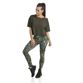 Thumbnail 5 of Training Damen Explosive 7/8 Graphic Tight, laurel wreath-forest night, medium