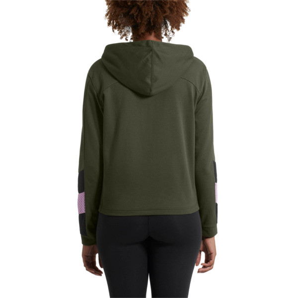 Training Women's A.C.E. Sweat Jacket, Forest Night, large