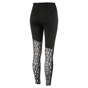 Thumbnail 4 of Pantalon de sport Training Always On Graphic 7/8 pour femme, Puma Black-Puma White, medium