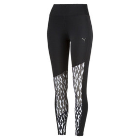 Thumbnail 1 of Pantalon de sport Training Always On Graphic 7/8 pour femme, Puma Black-Puma White, medium