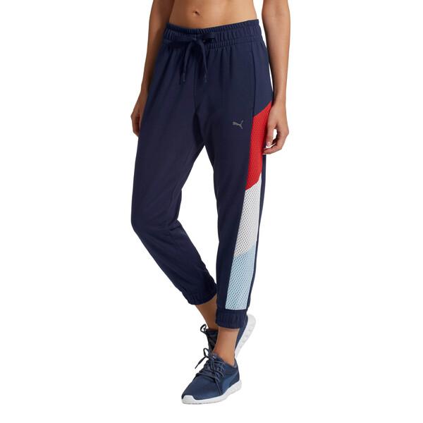 Training Women's A.C.E. 7/8 Sweatpants, Peacoat, large