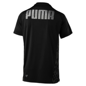 Thumbnail 4 of VENT Short Sleeve Men's Training Top, Puma Black-Q4, medium