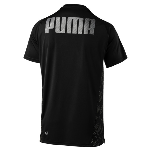 VENT Short Sleeve Men's Training Top, Puma Black-Q4, large
