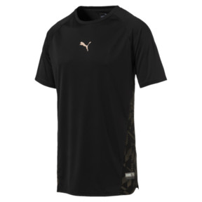 Thumbnail 1 of VENT Short Sleeve Men's Training Top, Puma Black-Q4, medium