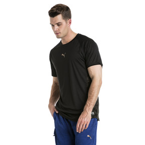 Thumbnail 2 of VENT Short Sleeve Men's Training Top, Puma Black-Q4, medium