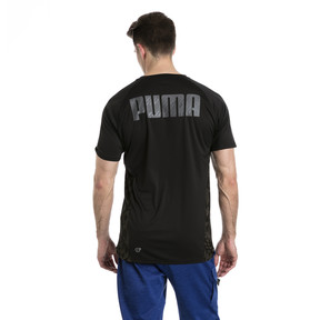 Thumbnail 3 of VENT Short Sleeve Men's Training Top, Puma Black-Q4, medium