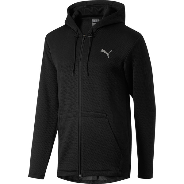 VENT Hooded Jacket, Puma Black, large
